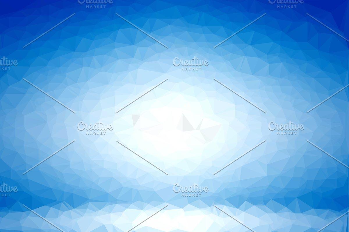 Blue Geometric 3d Background Graphic Patterns Creative Market