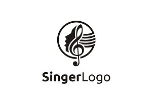 Singer/Vocal/Choir logo design