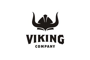 Viking Club logo design