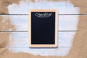 Checklist summer.