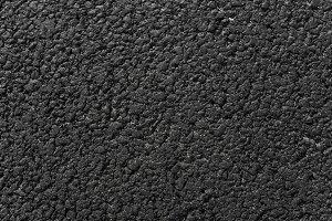 New black asphalt background texture