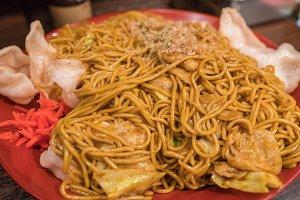 Yakisoba Japanese food