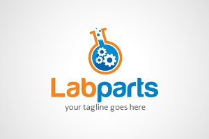 Technology Lab Logo Template