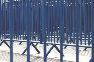 Safety protection fences ways
