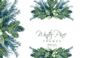 Pine Branches & Wreaths