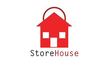 Store House Logo Template