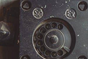 Old Antique Telephone Set