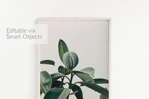 Frame Mockup, Clean & Simple