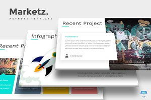Marketz - Keynote Template