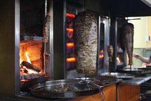 Grilled turkish shawerma
