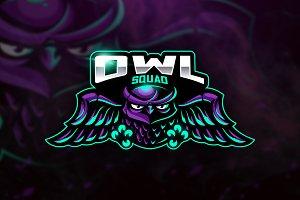 Owl Squad - Mascot & Esport Logo