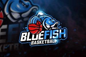 Bluefish Basketball - Mascot & Espor