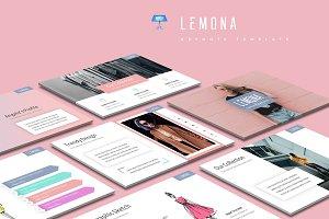 Lemona - Keynote Template