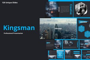 Kingsman Premium Powerpoint Template