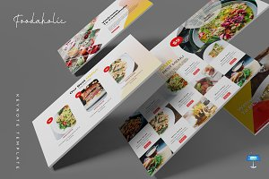 Foodaholic - Keynote Template