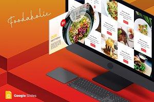 Foodaholic - Google Slides Template