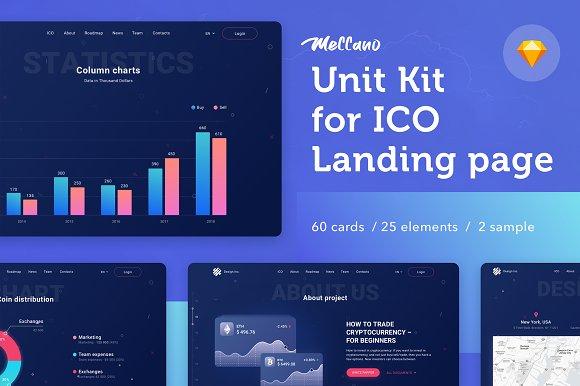 Meccano Unit Kit For Sketch Website Templates Creative Market