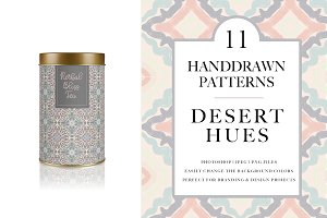 Desert Hues Seamless Pattern Pack