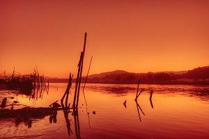 Nile river.