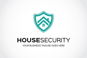 House Security  Logo Template