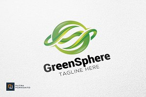 Green Sphere - Logo Template