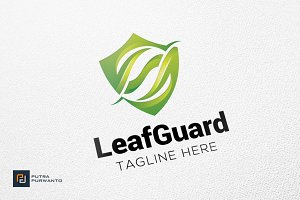 Leaf Guard - Logo Template