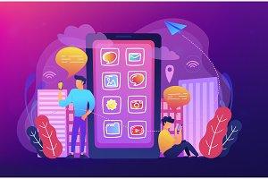 Social media and news tips, smart