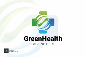 Green Health - Logo Template