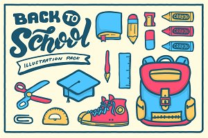 Back To School Vector Clipart