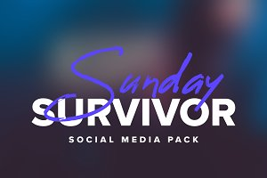 Sunday Survivor | Social Media Pack