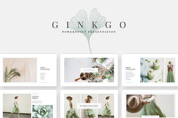 Ginkgo PowerPoint Presentation