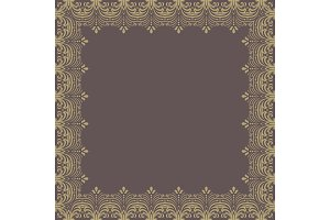 Floral Vector Pattern. Abstract