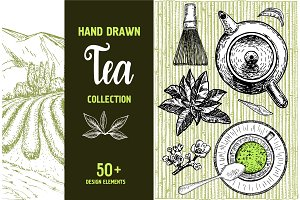 Tea Sketch Collection