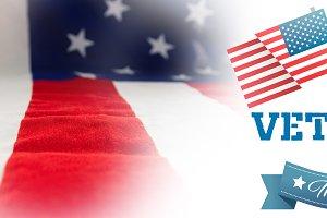 Image of logo for veterans day