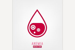 Anemia and Hemophilia icon