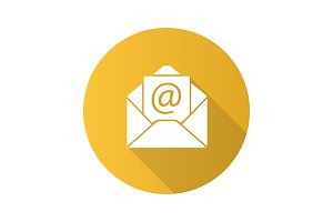 E-mail address icon