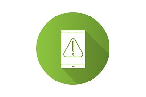 Smartphone error icon