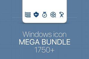 Windows Icon Mega Bundle 1750+