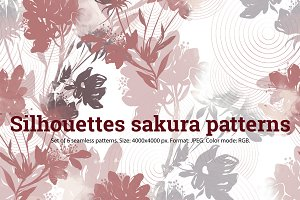 SALE: sakura patterns | JPEG