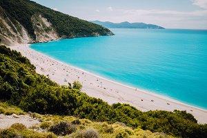 Famous Myrtos Beach. Must see