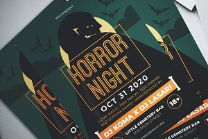 Halloween Horror Night Flyer