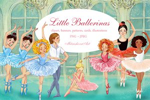 little ballerina .clipart