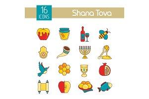 Rosh Hashanah, Shana Tova Jewish