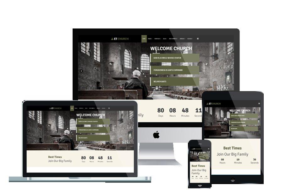 ET Church – WordPress Church Website