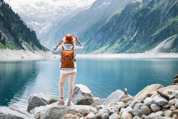People Stock Photos - Adventure and travel concept