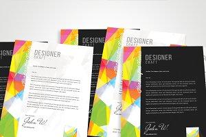 Design Agency Designer Letterhead