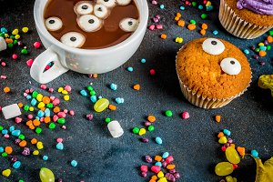 Funny children's treats for Hallowee