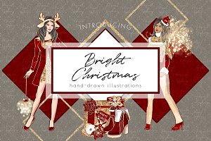 Bright Christmas, graphic collection