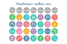 Miscellaneous Doodle Icons