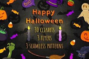 Halloween. Big set